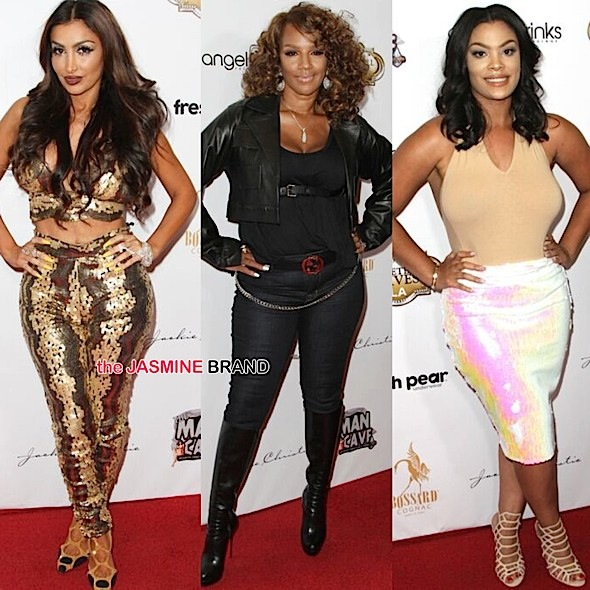 Angel Brinks, Jackie Christie, Mehghan James