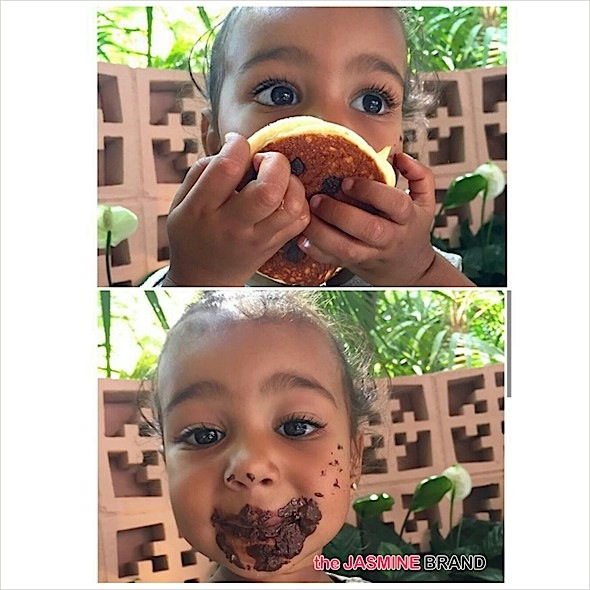 Baby North West-Chocolate Pancakes-the jasmine brand