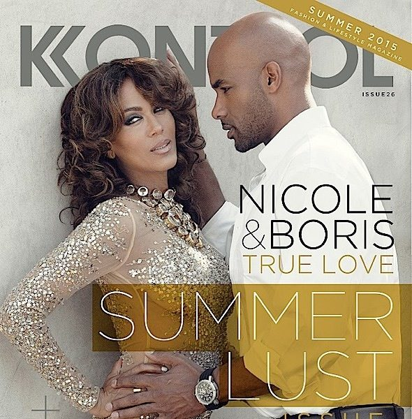 Boris Kodjoe and Nicole Ari Parker Admit It Wasn't Love At First Sight + See Their Kontrol Cover! [Photos]