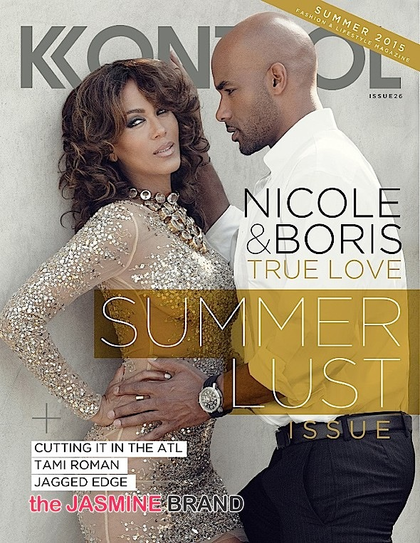 Boris Kodjoe-Nicole Ari Parker-Kontrol-the jasmine brand