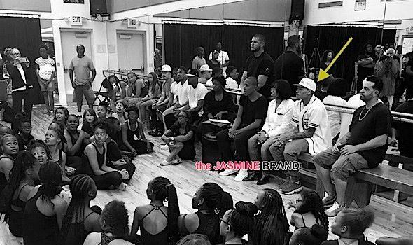 Chris Brown Surprises Students At Dance Class [VIDEO]