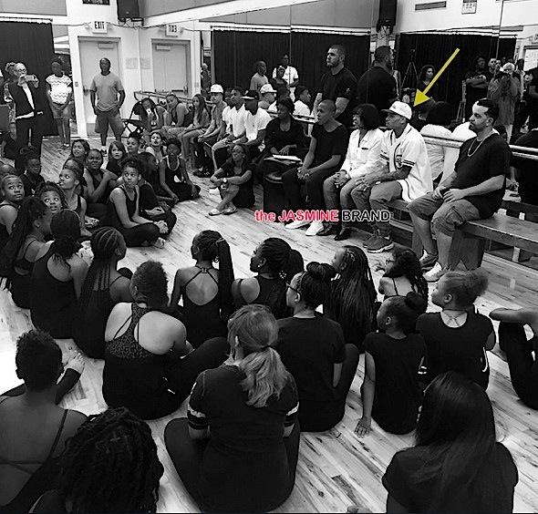 Chris Brown-Visits Las Vegas Dance Students-the jasmine brand