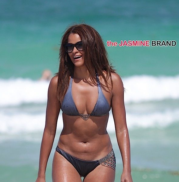 Celebrity Stalking: Claudia Jordan, LisaRaye, Brandy, Laura Govan, Peter Thomas, Kordell Stewart + Baby Titan and Wolf Lee [Photos]