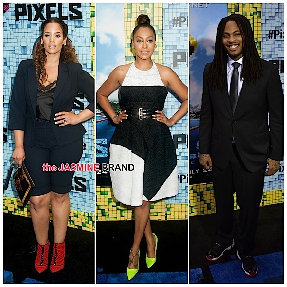 'Pixels' NYC Premiere: Lala Anthony, Dascha Polanco, Waka Flocka, Affion Crockett, June Ambrose [Photos]