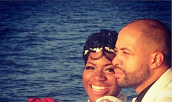 'God didn't forget about me' Fantasia Gushes After Marrying Kendall Taylor + See the Wedding Photos!