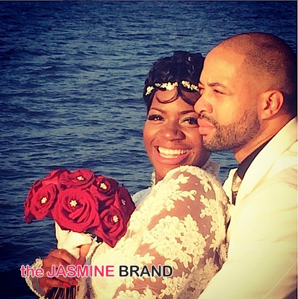 Fantasia Marries Kendall Taylor-the jasmine brand