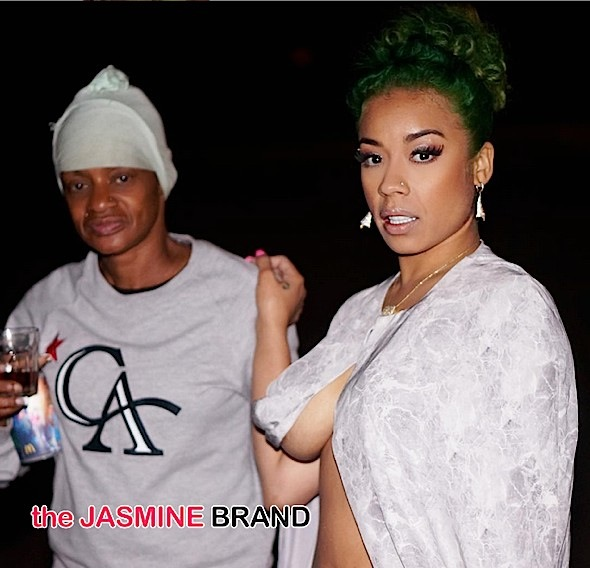 Frankie and Keyshia Cole-the jasmine brand