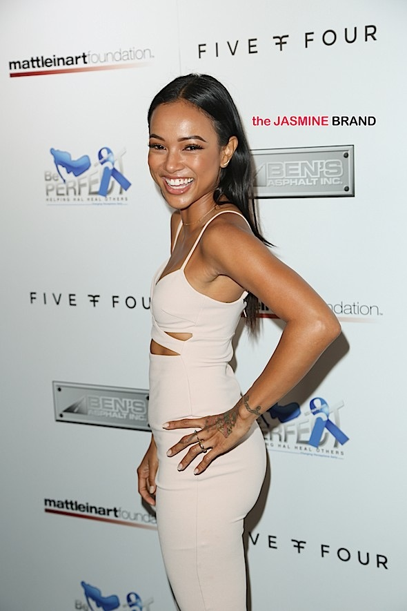 Karrueche Opens Up About Dating Women - If I Found The Right Girl, I'd Do It Again!
