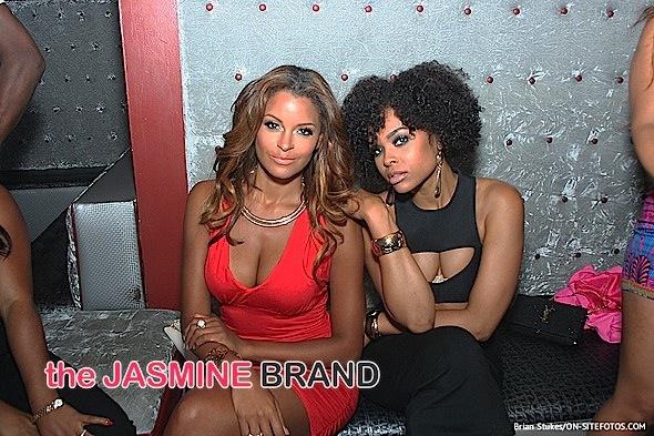 Claudia Jordan & Demetria McKinney Go Clubbin' [Photos]