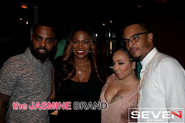 Todd Tucker, Kandi Burruss, Tiny, T.I.