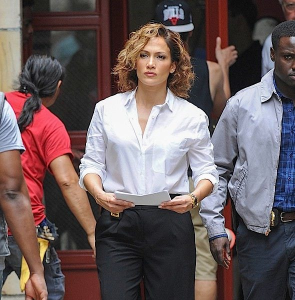 J.Lo Films 'Shades of Blue' Series [Spotted. Stalked. Scene.]
