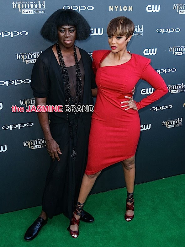 J. Alexander and Tyra Banks