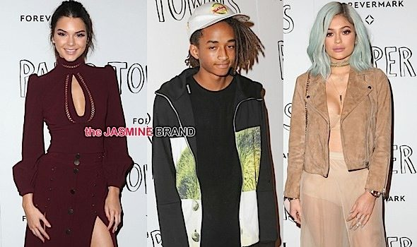 Jaden Smith, Kylie Jenner, Kendall Jenner, Cara Delevingne Attend 'Paper Towns' Premiere [Photos]