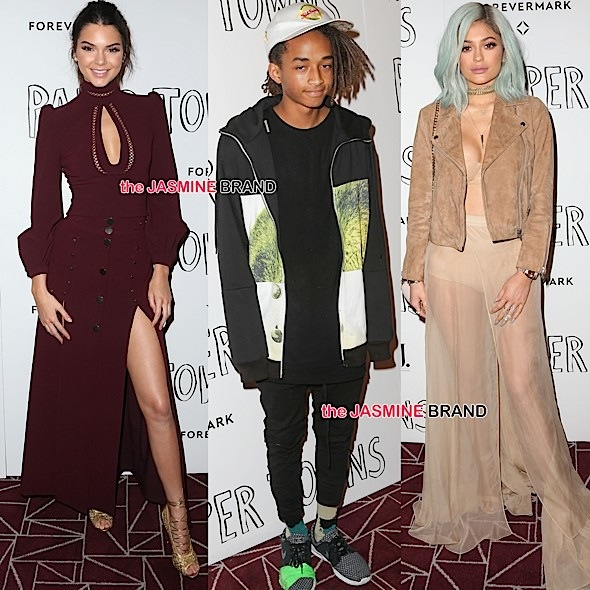 Kendall Jenner, Jaden Smith, Kylie Jenner