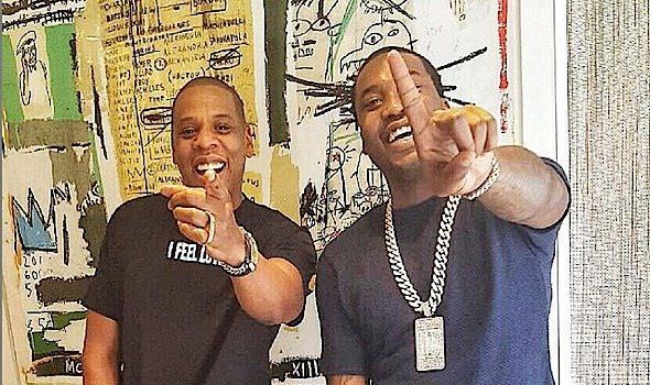 Jay Z Celebrates Meek Mill's #1 Album [Photos]