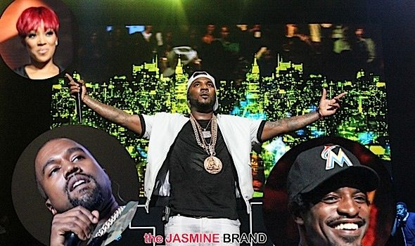 Kanye West, Andre 3000, Bun B, Tip, Usher Take the Stage For Jeezy's 10 Year Concert [Photos]