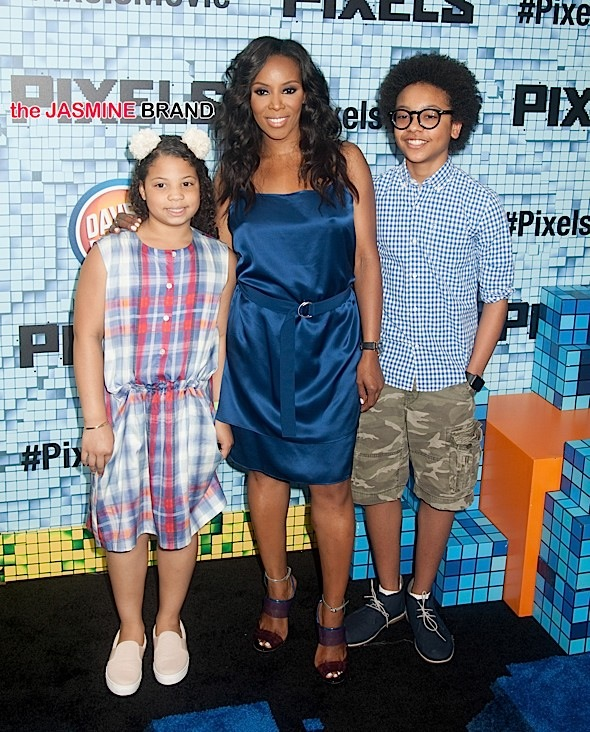 June Ambrose and her two children