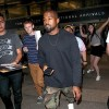Kanye West Sighted at LAX Airport on July 1, 2015