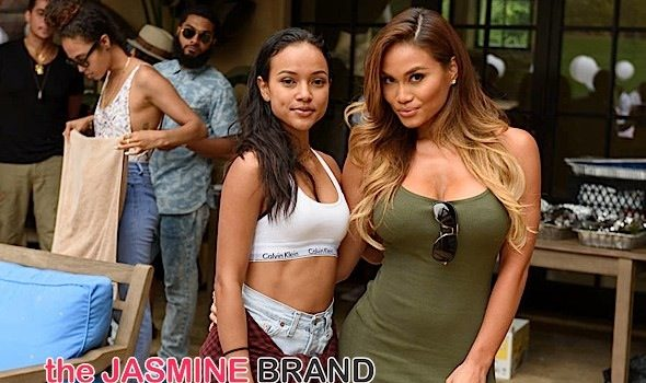 Splash! Karrueche Tran Hosts 'Annual Kae Day Pool Party': Daphne Joy, Quincy, Siya Attend [Photos]