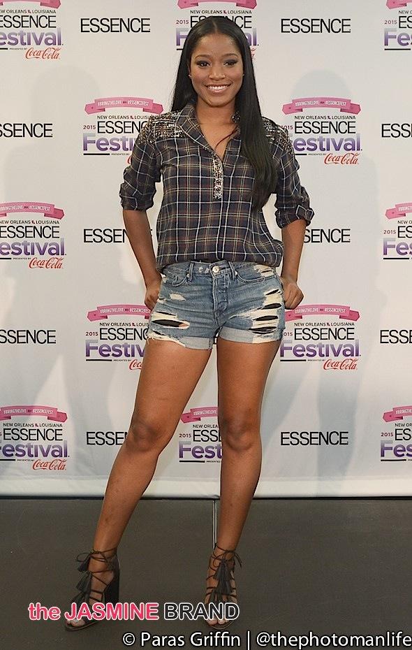 Keke Palmer-EssenceFest-the jasmine brand.