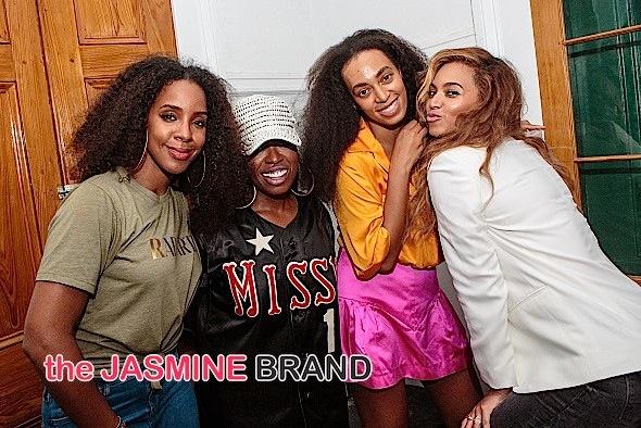 Kelly Rowland, Missy Elliott, Solange, Beyonce