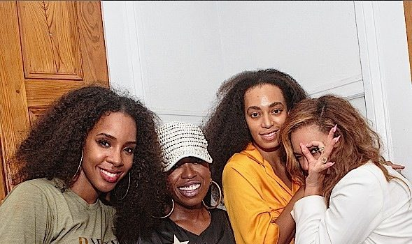 Beyonce & Blue Ivy Support #TeamUSA + Bey Parties With Missy Elliott, Kelly Rowland and Solange Knowles [Photos]