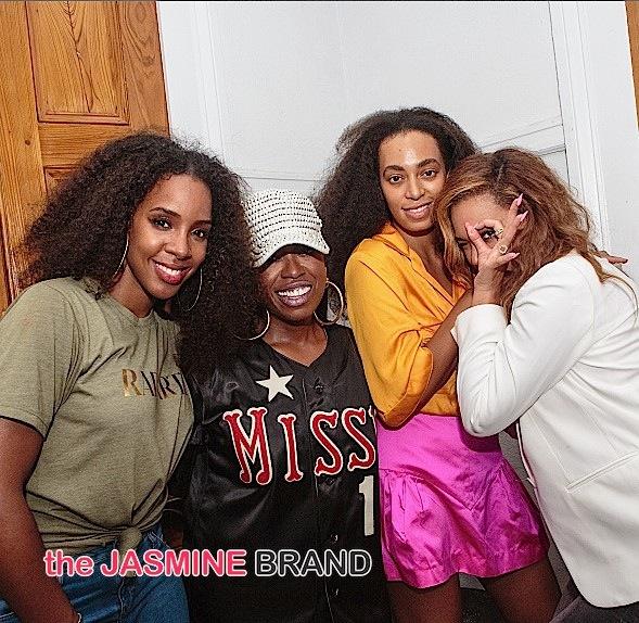 Kelly Rowland-Missy Elliott-Solange Knowles-Beyonce-the jasmine brand