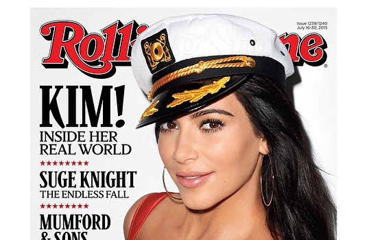 Kim Kardashian Believes She's Smarter Than She's Portrayed + See her Rolling Stone Cover!