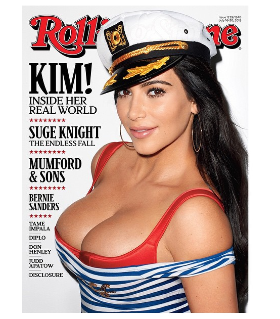 Kim Kardashian Rolling Stone Cover July 2015-the jasmine brand