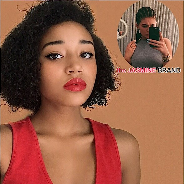 Kylie Jenner's Cornrows Sparks A Tongue-Lashing About Black Culture From Amandla Stenberg