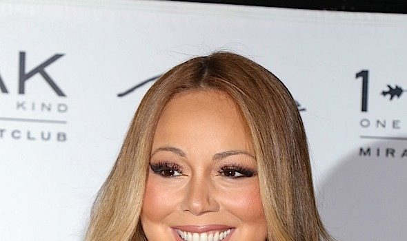 Mariah Carey Hits 1Oak, Rocking A $500K Necklace From Her Billionaire Boyfriend [Blinged Out Babe]