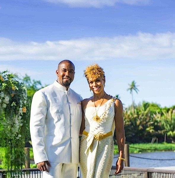 Actor Michael Jai White Marries Longtime Fianceé Gillian Waters [Photos]