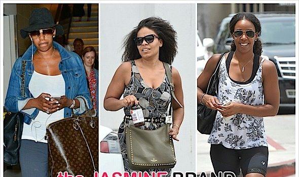 Celebrity Stalking: Sanaa Lathan, NeNe Leakes, Kelly Rowland, Eva Marcille, Taraji P. Henson, Ming Lee Simmons, Amber Rose & Blac Chyna [Photos]