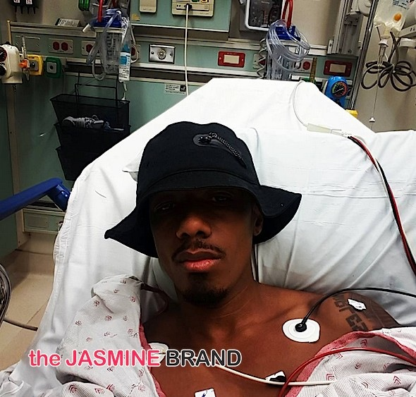 Nick Cannon Writes From His Hospital Bed: I gotta stop running my body to the ground.