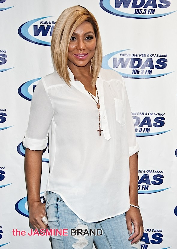 X Ambassadors and Tamar Braxton Visit Radio 1045 and WDAS Performance Theatre in Bala Cynwyd - July 28, 2015