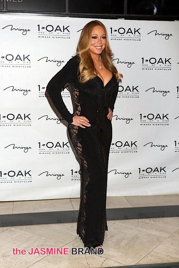 Mariah Carey Hosts the Evening at 1Oak Nightclub in Las Vegas on July 25, 2015