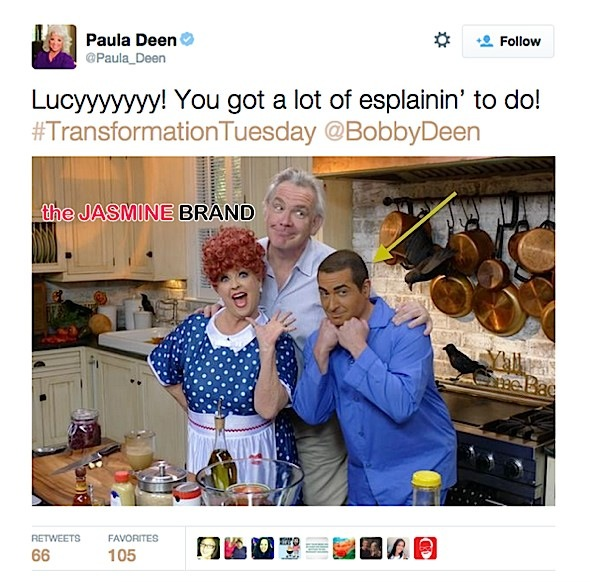 Paula Deen Posts Brown-Face Photo, Fires Social Media Manager After Backlash