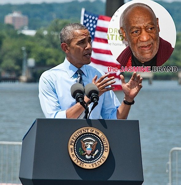 President Obama (SORTA) Denounces Bill Cosby: This country should have no tolerance for rape.