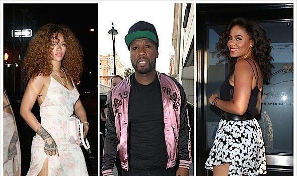 Celebrity Stalking: Sanaa Lathan, Rihanna, 50 Cent, Evander Holyfield, Tommy Davidson, Floyd Mayweather Sr. [Photos]