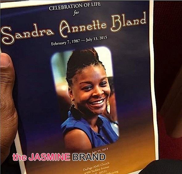 Sandra Bland Laid to Rest-the jasmine brand