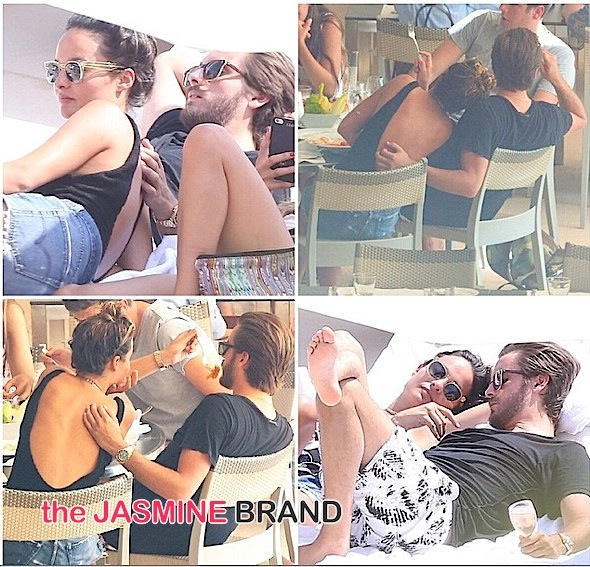 Scott Disick Vacays With Ex-Girlfriend Chloe Bartoli, Baby Mama Kourtney Kardashian MIA [Photos]