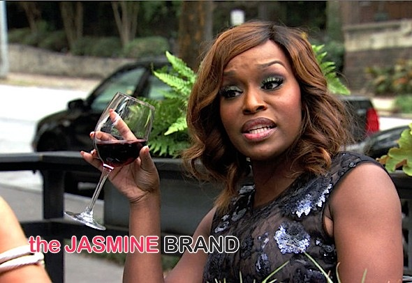 Married to Medicine's Quad Webb Lunceford & Lisa Nicole Cloud Hurl Insults & Glass [VIDEO]