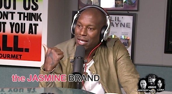 Tyrese Opens Up About His Last Studio Album, Pop Music & Dodges Sanaa Lathan Questions
