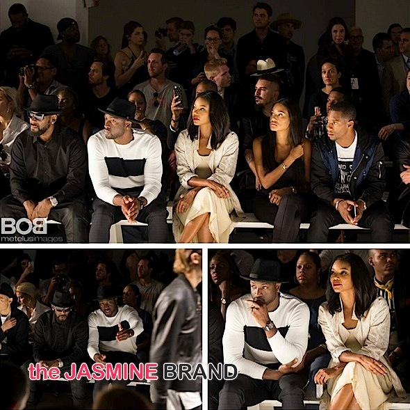 Fashionably in Love! Gabrielle Union & Husband Dwyane Wade Invade Men's New York Fashion Week [Photos]