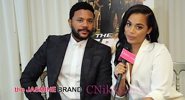 Lauren London Helped Hosea Chanchez Say Goodbye to The Game [VIDEO]