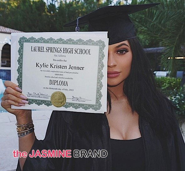 Kylie Jenner Officially Graduates From High School! Boyfriend Tyga, James Harden, Ryan Seacrest Spotted [Photos]