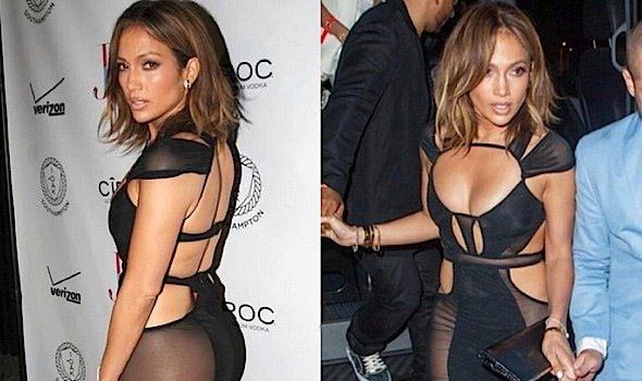 Ageless Beauty! J.Lo Turns Heads On 46th Birthday With Casper Smart, French Montana & Fat Joe [Photos]