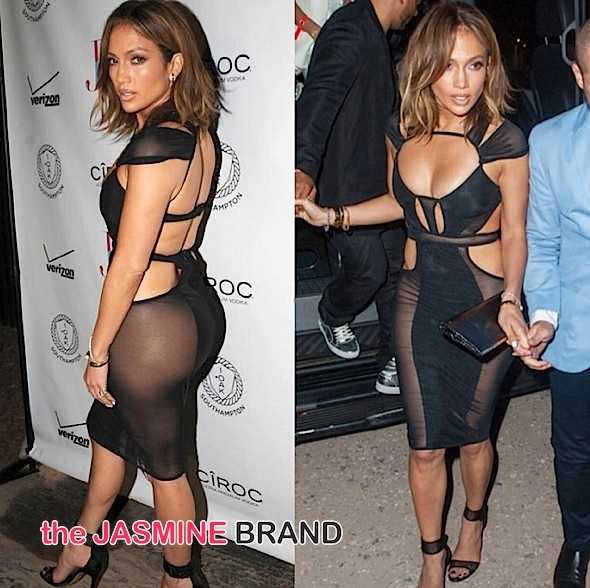 Ageless Beauty! J.Lo Turns Heads On 46th Birthday With Casper Smart, French Montana & Fat Joe [Photos]