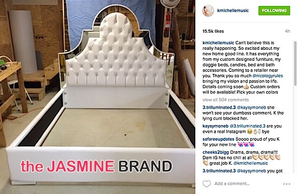 Drama Pops Off After K Michelle Announces Home Furnishing