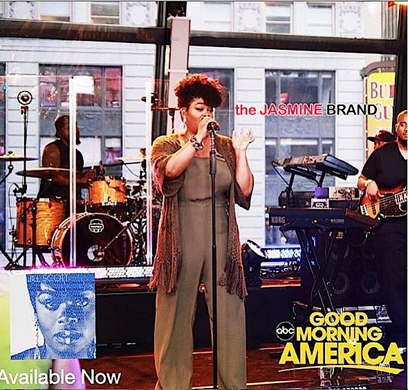 Jill Scott Performs 'Closure' On GMA + Stacy Barthe Releases 'Here I Am' [VIDEO]